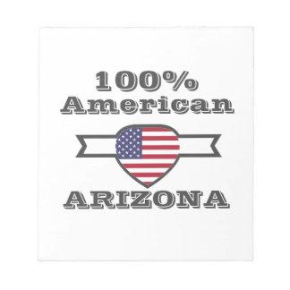 100% American, Arizona Notepad