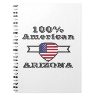 100% American, Arizona Spiral Notebook