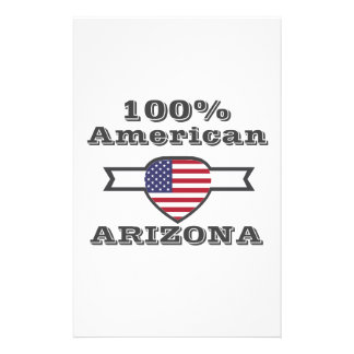 100% American, Arizona Stationery