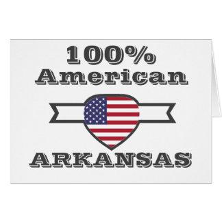 100% American, Arkansas Card