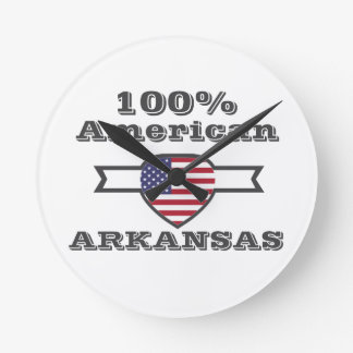 100% American, Arkansas Round Clock