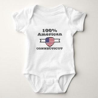 100% American, Connecticut Baby Bodysuit