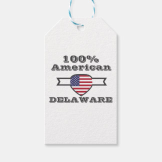 100% American, Delaware Gift Tags
