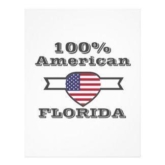 100% American, Florida Letterhead