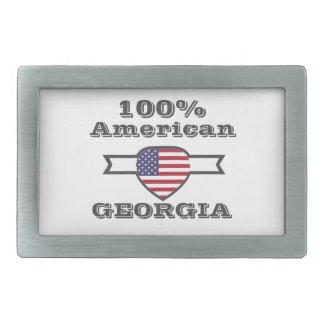 100% American, Georgia Belt Buckle