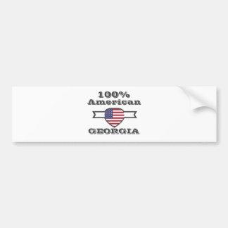 100% American, Georgia Bumper Sticker