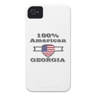 100% American, Georgia iPhone 4 Case-Mate Case