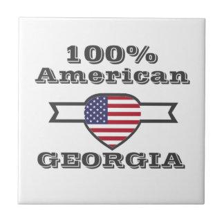 100% American, Georgia Tile
