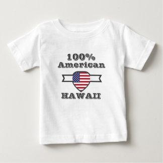 100% American, Hawaii Baby T-Shirt