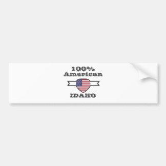 100% American, Idaho Bumper Sticker