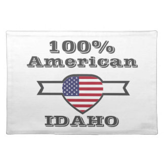 100% American, Idaho Placemat