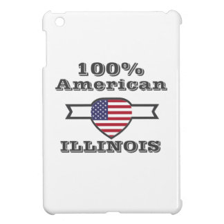 100% American, Illinois iPad Mini Cover