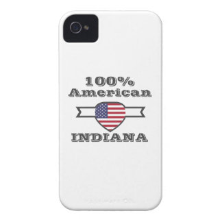 100% American, Indiana iPhone 4 Case