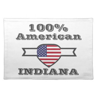 100% American, Indiana Placemat