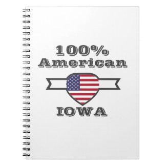 100% American, Iowa Notebook