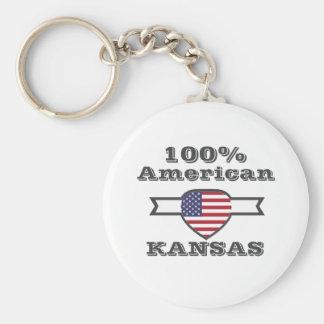 100% American, Kansas Keychain