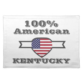 100% American, Kentucky Placemat