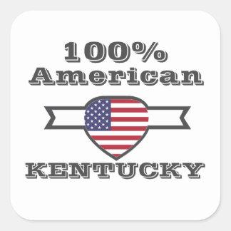 100% American, Kentucky Square Sticker