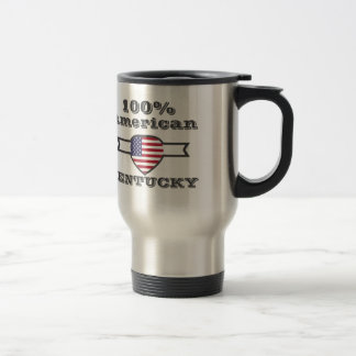 100% American, Kentucky Travel Mug