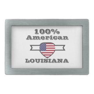 100% American, Louisiana Belt Buckles