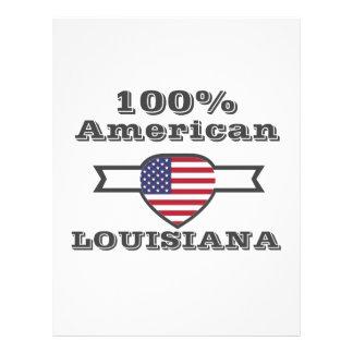 100% American, Louisiana Letterhead