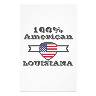 100% American, Louisiana Stationery