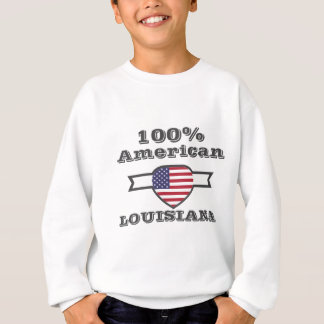 100% American, Louisiana Sweatshirt