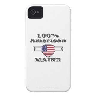 100% American, Maine iPhone 4 Case
