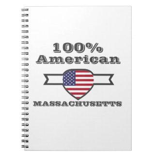 100% American, Massachusetts Notebook
