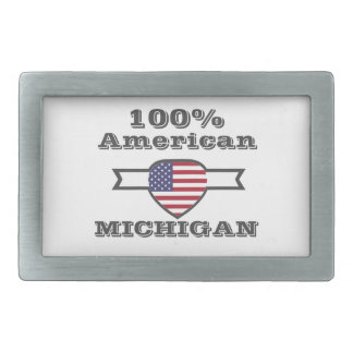 100% American, Michigan Belt Buckles