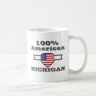 100% American, Michigan Coffee Mug