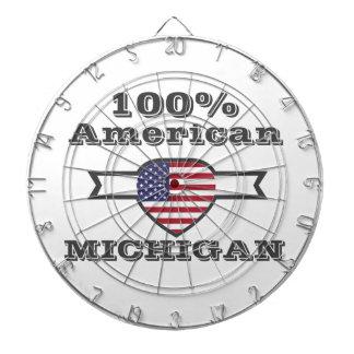 100% American, Michigan Dartboard