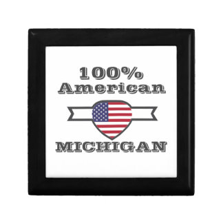 100% American, Michigan Gift Box