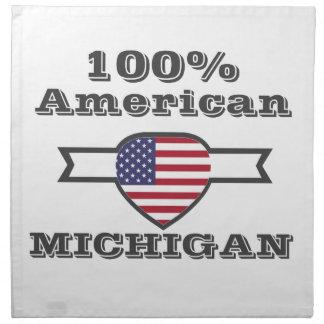 100% American, Michigan Napkin