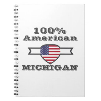 100% American, Michigan Notebooks