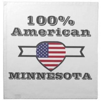 100% American, Minnesota Napkin