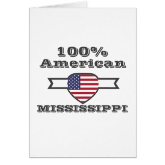100% American, Mississippi Card