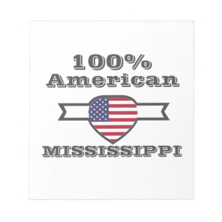 100% American, Mississippi Notepad