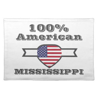 100% American, Mississippi Placemat