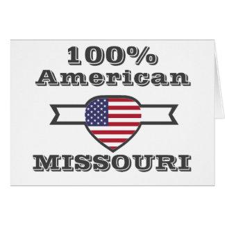 100% American, Missouri Card