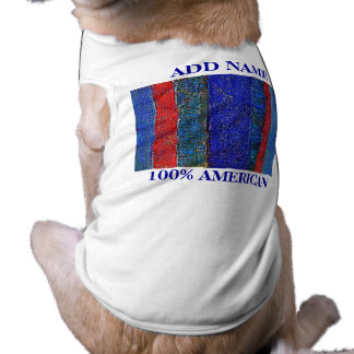 100% American Mixed Breed Pet T Pet Clothing