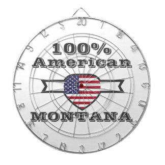 100% American, Montana Dartboard
