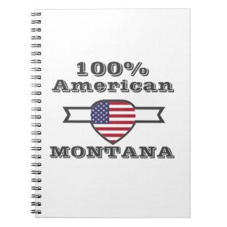 100% American, Montana Notebook