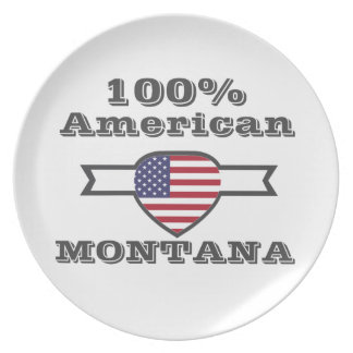 100% American, Montana Plate