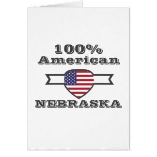 100% American, Nebraska Card