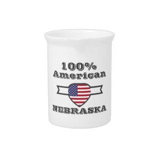 100% American, Nebraska Pitcher