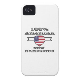 100% American, New Hampshire iPhone 4 Case
