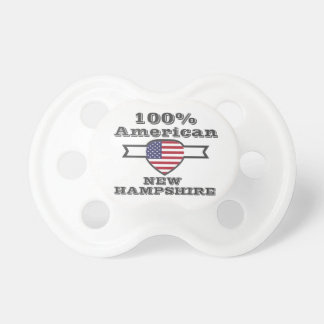 100% American, New Hampshire Pacifier
