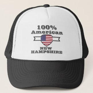 100% American, New Hampshire Trucker Hat