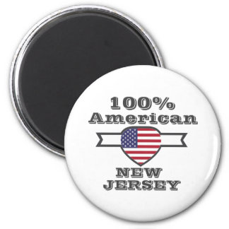 100% American, New Jersey Magnet